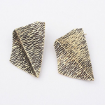 Arrow tip earrings