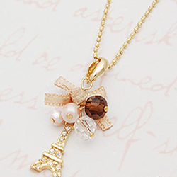 short paris necklace