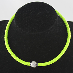 yellow magnet necklace